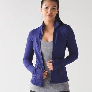 Lululemon Rare Emperor Blue Purple Define Jacket